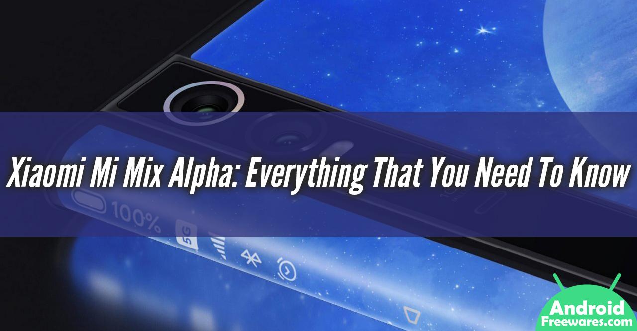 Xiaomi Mi Mix Alpha Review