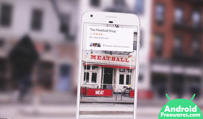 google lens review ratings of restaurants bars venues
