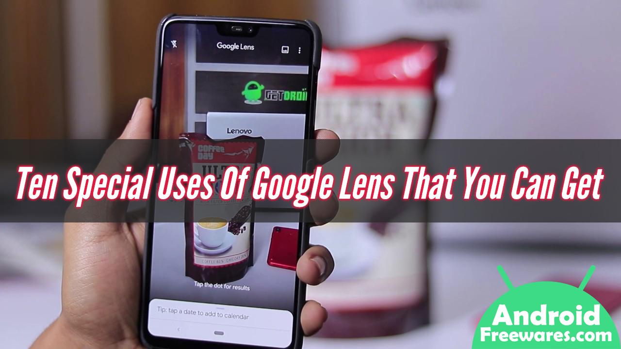 google lens uses