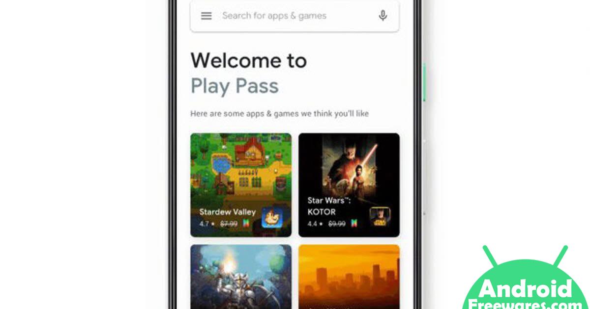 google play pass games