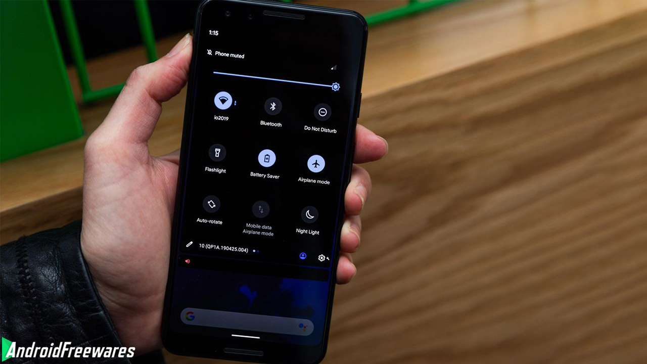 android dark mode