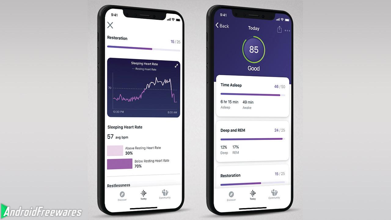 fitbit sleep score premium