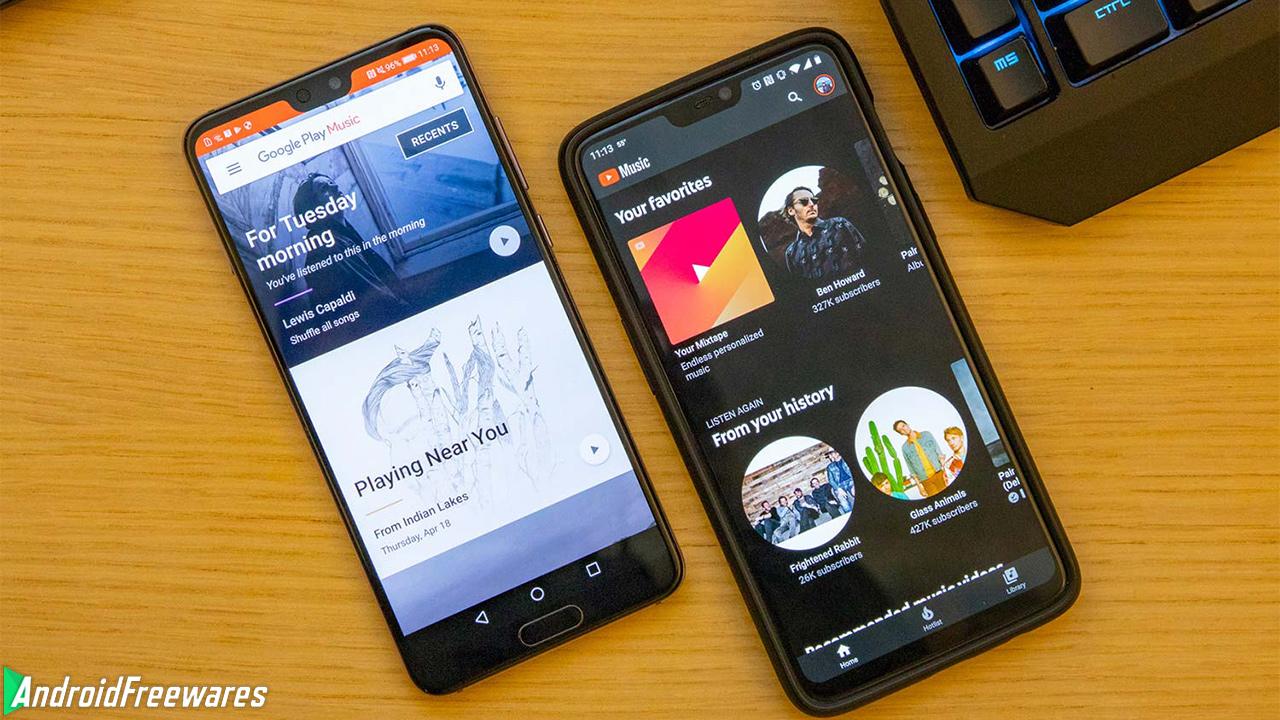 google play music youtube music
