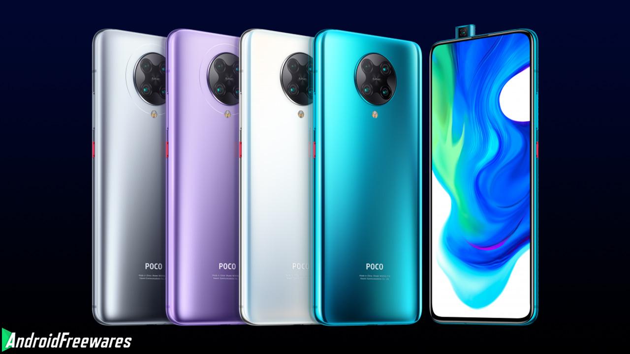poco f2 colors